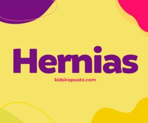 Hernia inguinal en niños y niñas